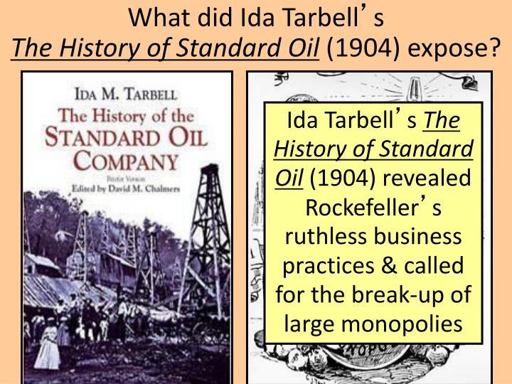 What did Ida Tarbell