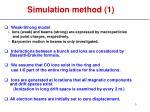 simulation method 1