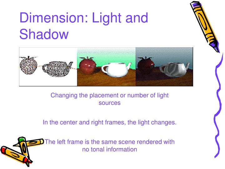 Dimension: Light and Shadow