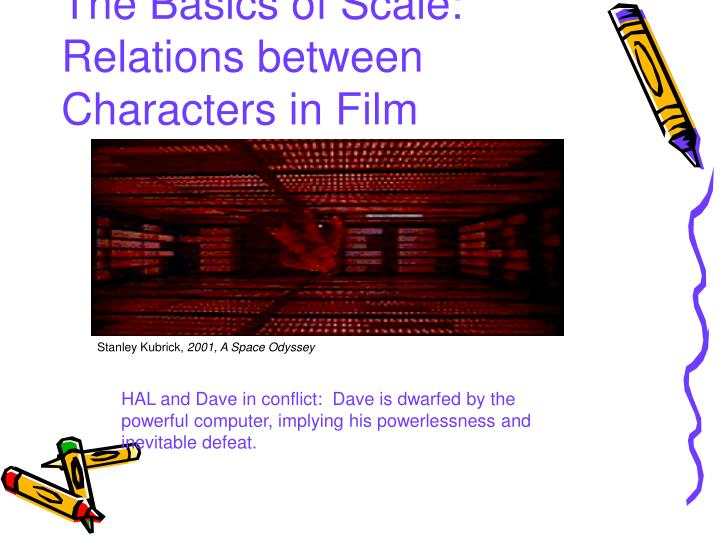 The Basics of Scale: Relations between Characters in Film