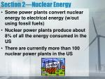 section 2 nuclear energy