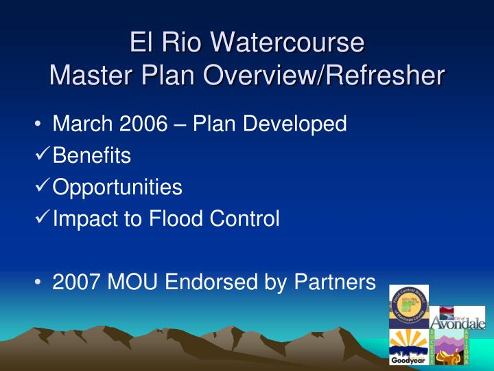 El Rio Watercourse