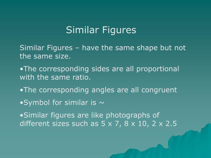 Ppt Similar Figures Powerpoint Presentation Id6398615
