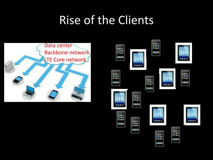 Rise of the Clients