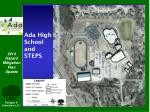 ada high school and steps