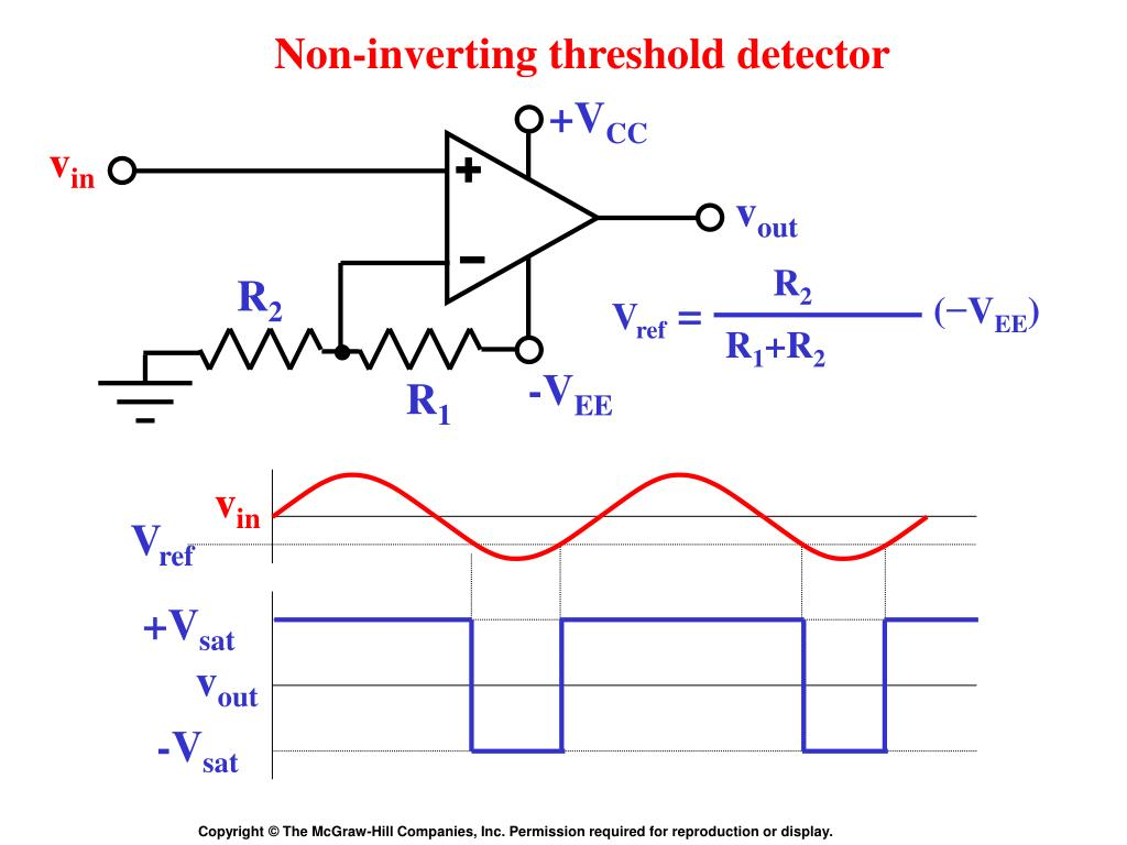 Inverting Comparator With Hysteresis