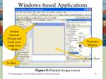 windows based applications