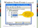 windows form events continued