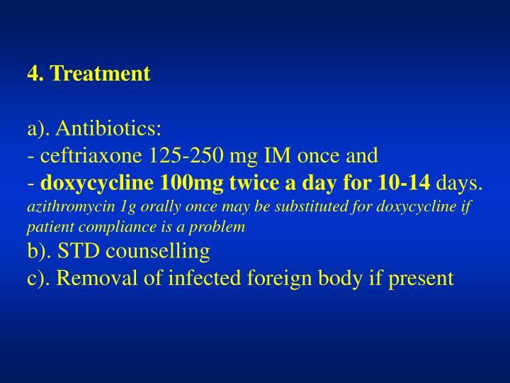 4. Treatment