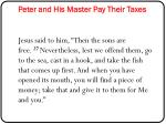 peter and his master pay their taxes1