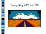 integrating gps and gis