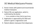 dc medical marijuana process