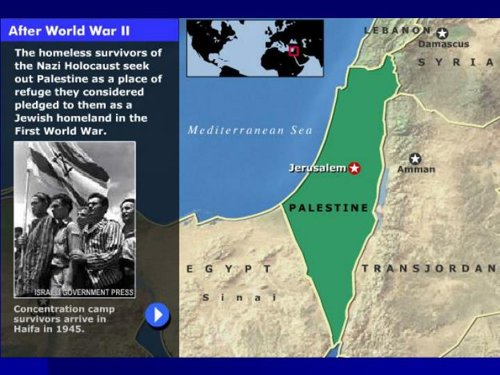 The mideast conflict