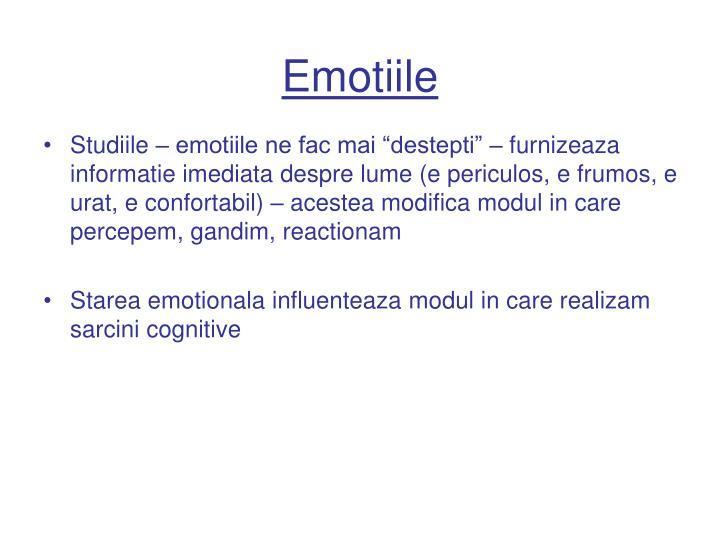 Emotiile