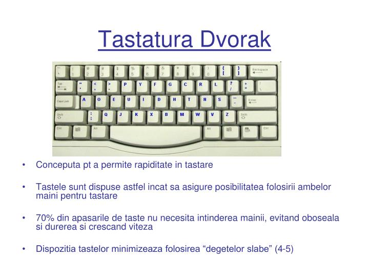 Tastatura Dvorak