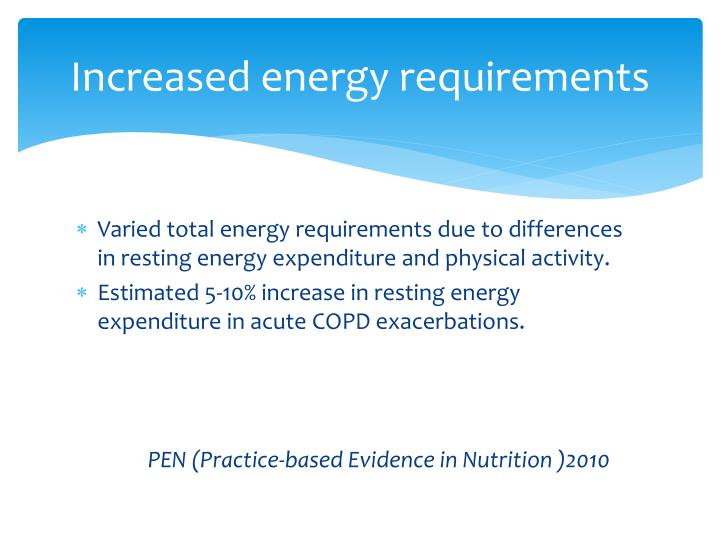 Ppt Nutrition And Copd Powerpoint Presentation Id 6400914