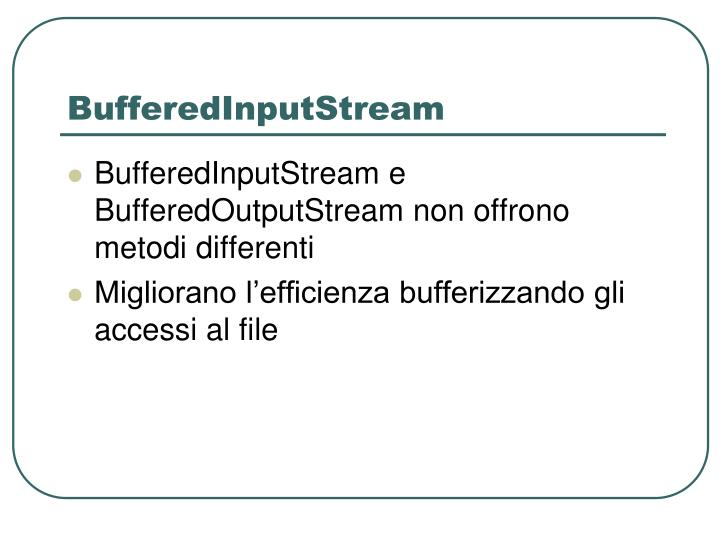 BufferedInputStream
