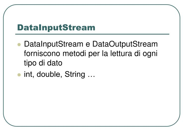 DataInputStream