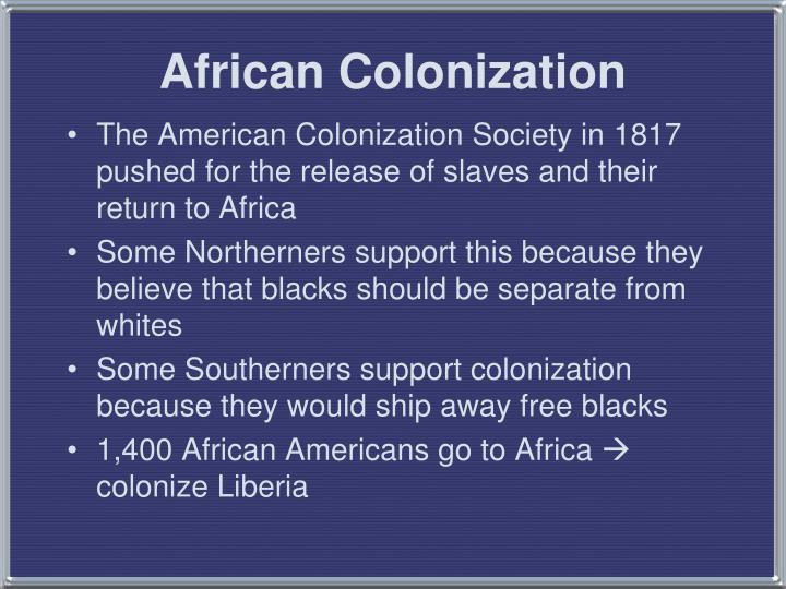 African Colonization