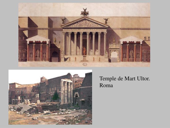 Temple de Mart Ultor. Roma