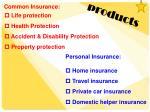 common insurance