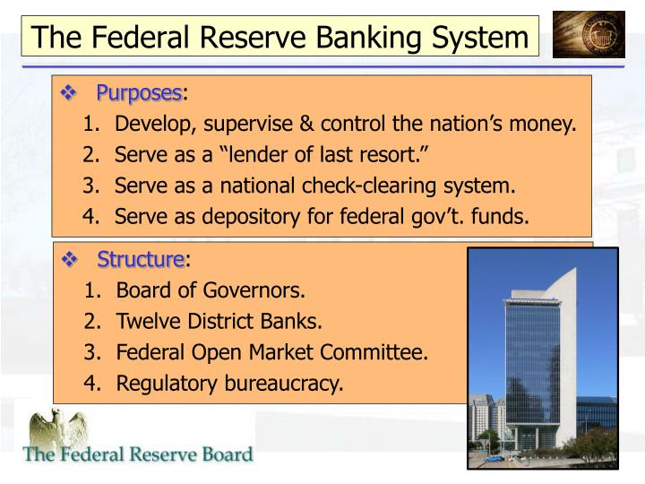eco 372 federal reserve power point presentation Eco 372 federal reserve presentation 1 jon clarkson eco 372 dr baker 10 march 2014 2 the federal reserve system is the central bank of the.