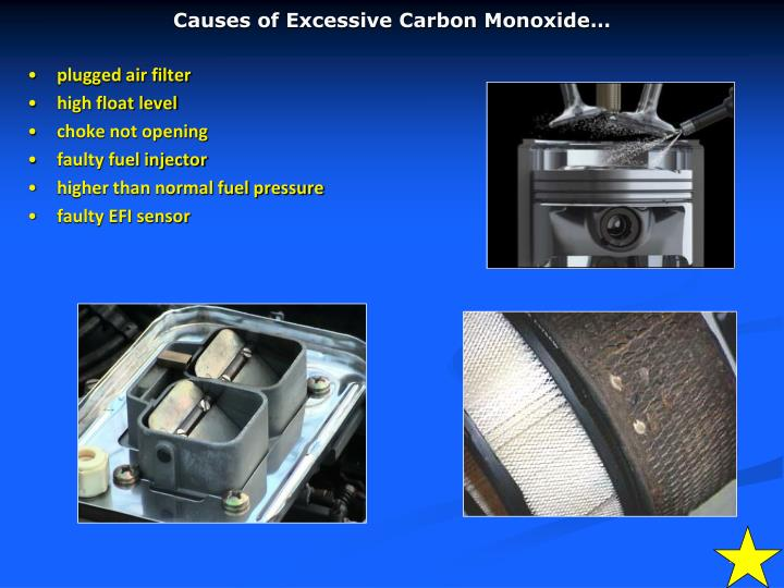 Causes of Excessive Carbon Monoxide…