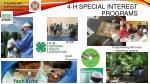 4 h special interest programs