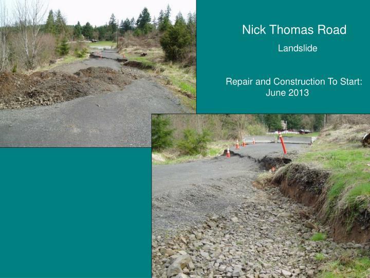 Nick Thomas Road