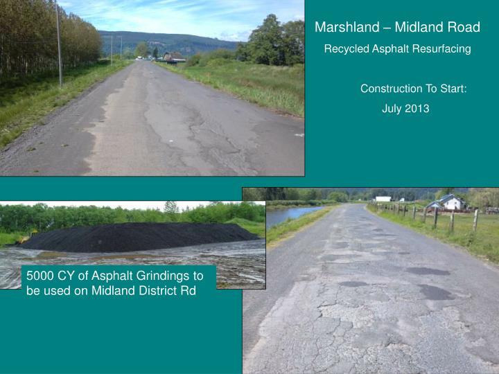Marshland – Midland Road