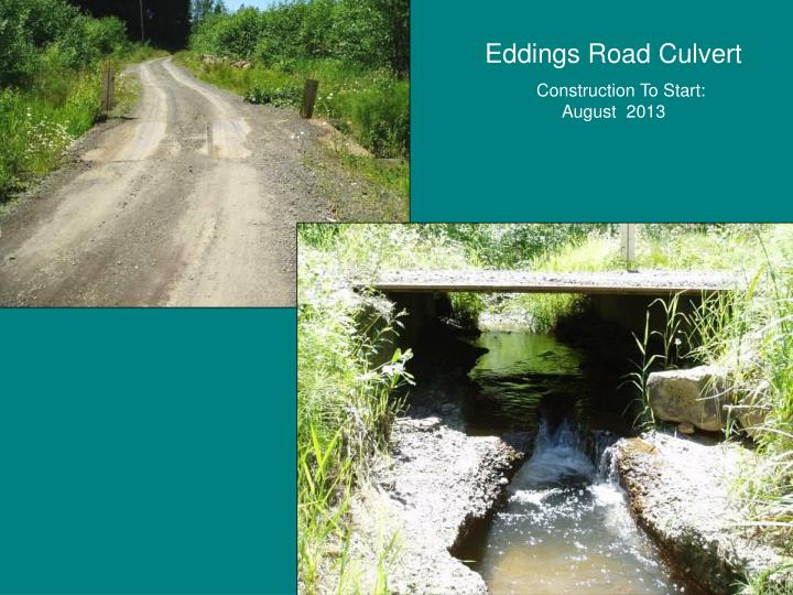 Eddings Road Culvert