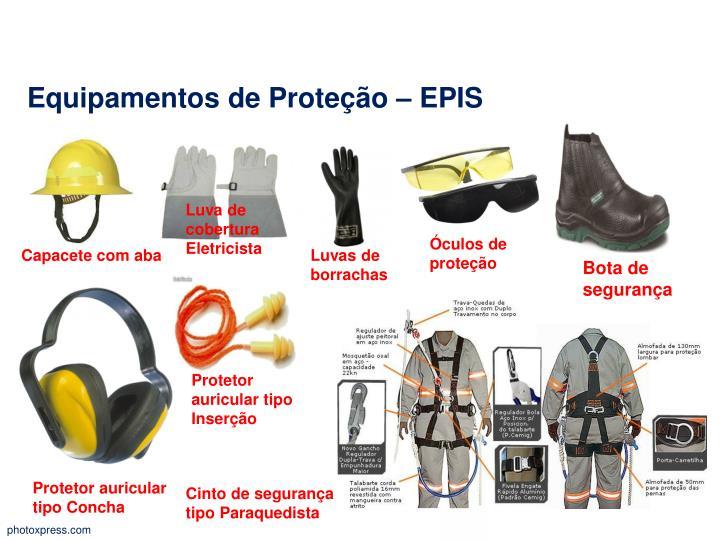 Equipamentos de Proteção –