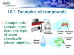 10 1 examples of compounds