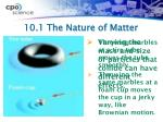 10 1 the nature of matter1