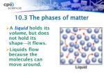 10 3 the phases of matter1
