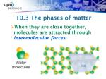 10 3 the phases of matter3