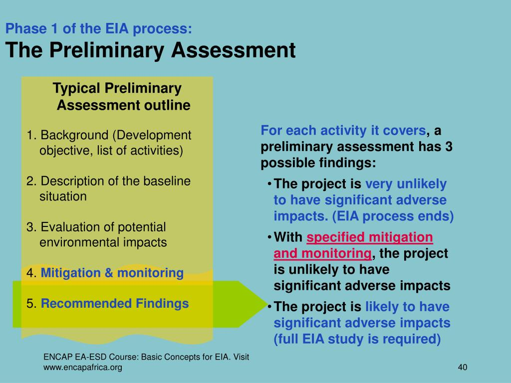 PPT - Basic Concepts for Assessing Environmental Impacts PowerPoint