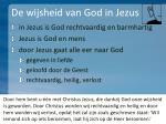 de wijsheid van god in jezus8