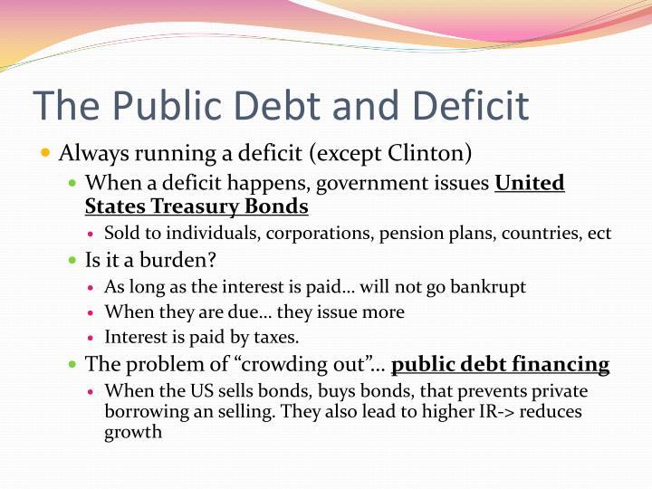 burden arising out of public debt