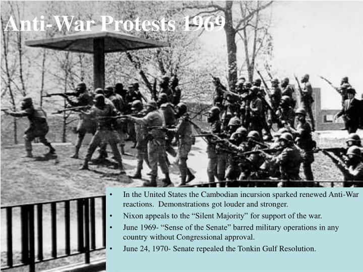 Anti-War Protests 1969
