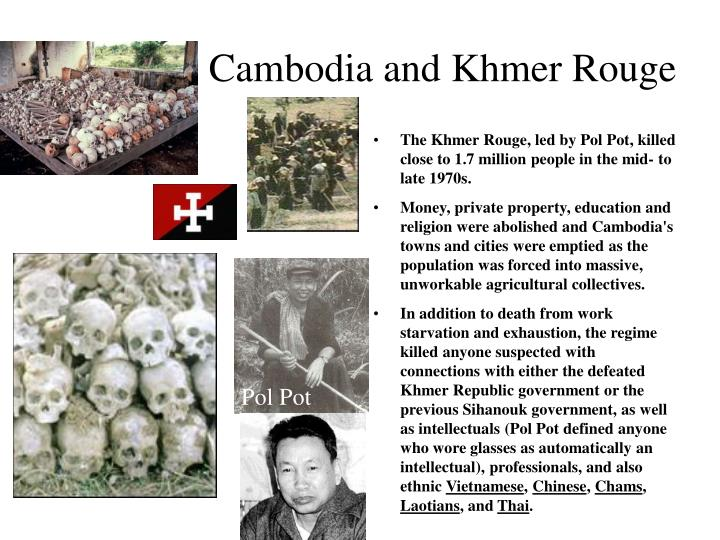 Cambodia and Khmer Rouge