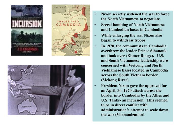 Cambodian Incursion 1969-1970