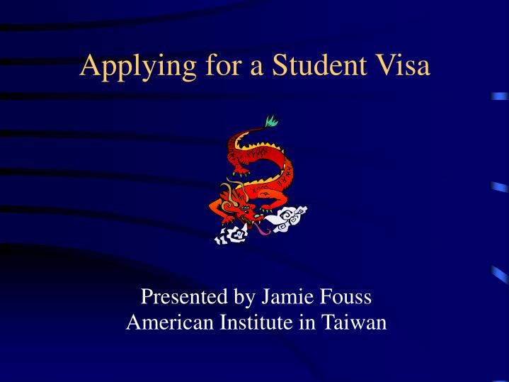 applying for a student visa n.