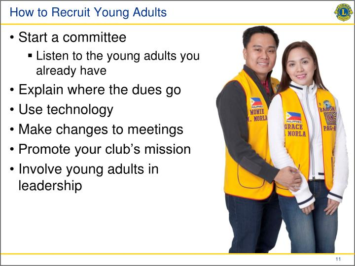 How to Recruit Young Adults