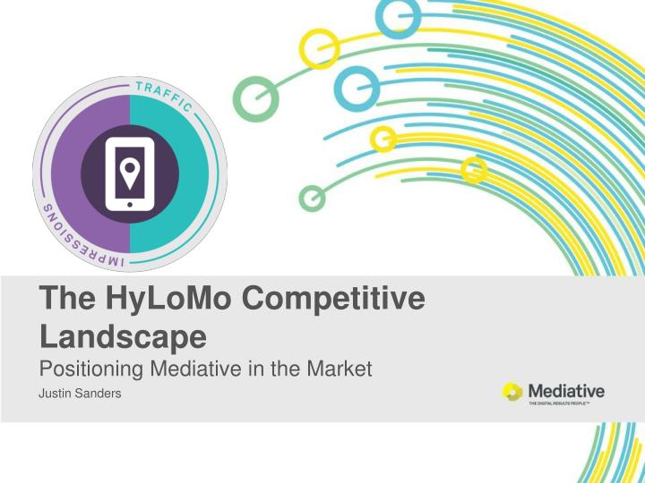 the hylomo competitive landscape positioning mediative in the market n.