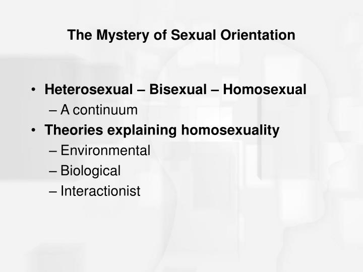 The Mystery of Sexual Orientation