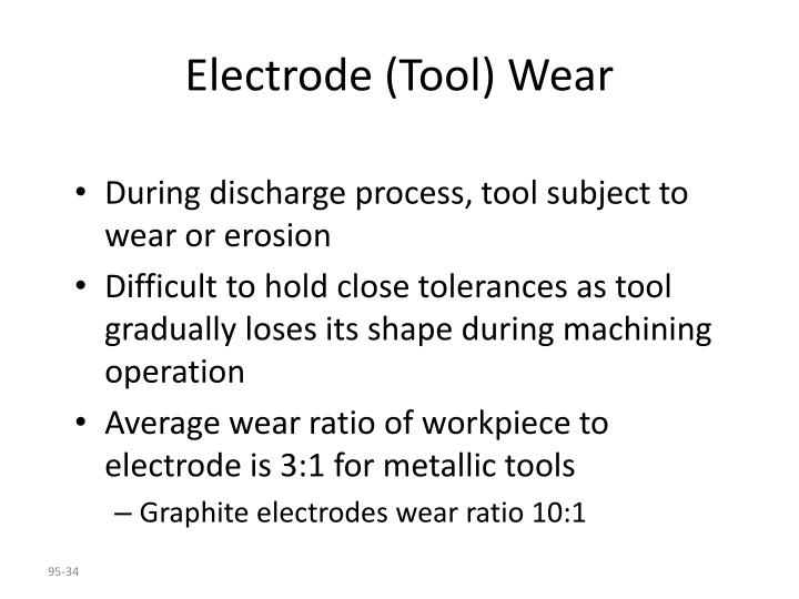 Electrode (Tool) Wear