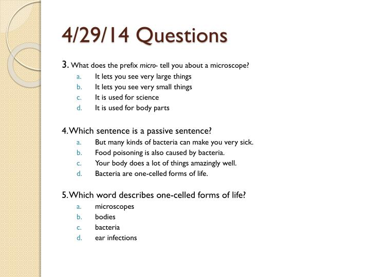 4/29/14 Questions