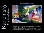 kandinsky the forefather