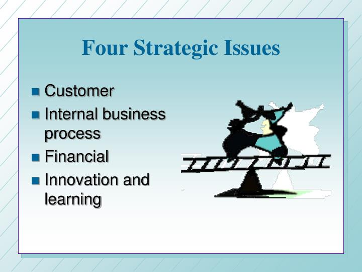 Four Strategic Issues